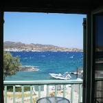 vista dell'isola di Kimolos