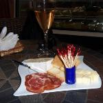 Yummy Tidbits of Prosciutto & Cheese
