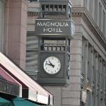 Magnolia Hotel Clock