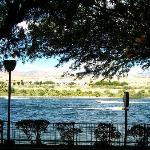 View of the Colorado River from the Vineyard inside the Aquarius Casino