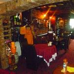 Bar at the Blue Bell Inn