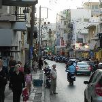 Calle del hotel