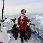 Even my teenage son was smiling! That's as rare as a 300 lb halibut. :)