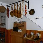 Authentic hams from Granada
