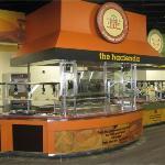 Pavillion Style buffet station