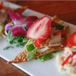 Strawberry and crab salad