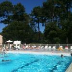 piscine et pataugeoire du club Belambra les mathes la Palmyre