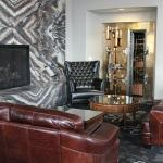 Custom fireplace wall