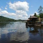 Big Moose Lake on a Sunny July Day