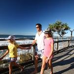 Just 200 metres from the markets is the beach and the boardwalk!