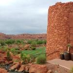 Kokopelli exterior. One of our favorite viewpoints.