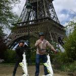 Paul and Trent Trikking around Paris