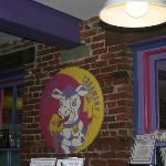 The Entrace to the Purple Cow.