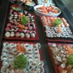 tem até culinaria japonesa !