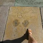 Marylin Monroe's impressions at Grauman's Chinese Theater