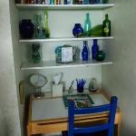 The sea glass room - desk area