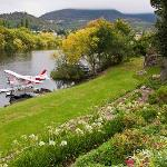 Arrive in style at our private landing