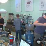 Nice Staff at Comet Coffee