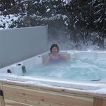 Hot tub open year round