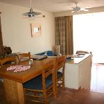 living area in our unit