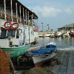Balikcilar Kahvesi (fishermen's café) - 70m away and open 24/7.