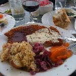 Jagerschnitzel at Alsatian Restaurant