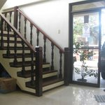 stairs to AC rooms 2nd floor