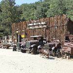Company Store with the Mine Museum inside. With collection of mine related vehicles,