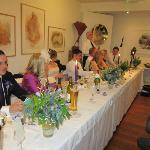 Top Table in the Gallery