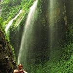 curtain waterfalls of madakaripura,east java.