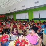 Ambientazo en uno de los partidos de España de la Eurocopa 2012