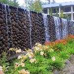 Waterfall decor