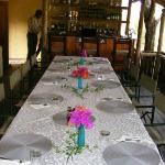 The main table for meals