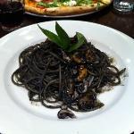 yummy squid spaghetti!