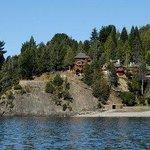 Complejo desde el Lago con la Playa Bonita