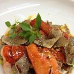 homard et truffes