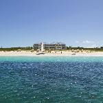 White sand beach on Grace Bay