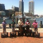 Segway around Boston Waterfront