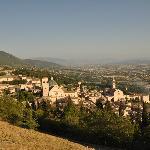 Panorama di Assisi dalla Rocca Maggiore