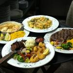 great seafood, steaks and sandwiches