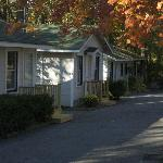 Fall view of our cottages