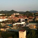 Blick auf die Berge u Montegrotto