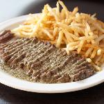 "The ""Entrecote dish with its Famous Sauce"""