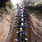 Canyoning with Adventure Kingdom, Aren't we GORGEous?