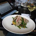 My tuna albacore was delicious!