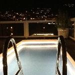 Plunge pool at the penthouse