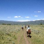 Horseback riding - led by Shawn Foster (the ultimate cowboy)