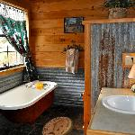 Bath at The Cabin