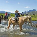 Riding Butterfly through the Wind River