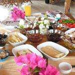 Tatil gününün müjdecisi Villa Mercan kahvaltısı...
